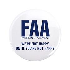 "FAA - Mission Statement 3.5"" Button"