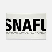 SNAFU Rectangle Magnet