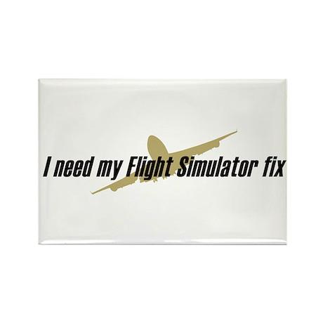 I Need my FS fix Rectangle Magnet