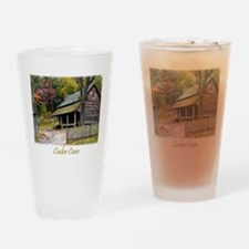 The Tipton Place Drinking Glass