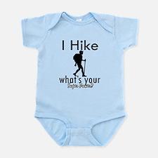 I Hike Infant Bodysuit
