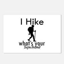 I Hike Postcards (Package of 8)