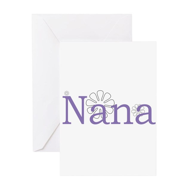 Nana Greeting Card By ChristmasList