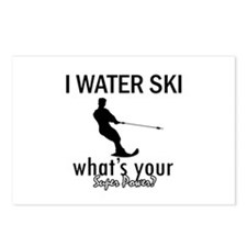 I Water Ski Postcards (Package of 8)