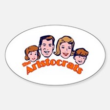 The Aristocrats Oval Decal