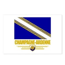 Champagne-Ardenne Postcards (Package of 8)