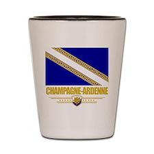 Champagne-Ardenne Shot Glass