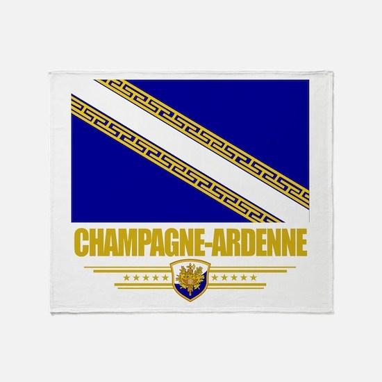 Champagne-Ardenne Throw Blanket