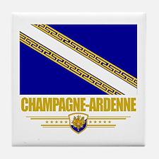 Champagne-Ardenne Tile Coaster