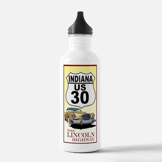 Unique Lincoln car Water Bottle