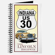 Unique Golden road Journal