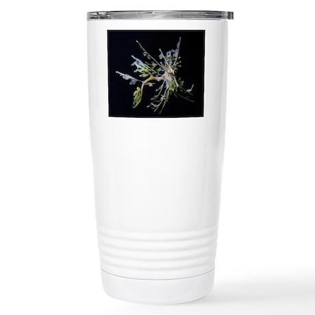 Leafy Flies Stainless Steel Travel Mug