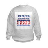 Proud coast guard brother Crew Neck