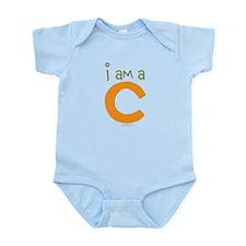 "Baby Boys I am a ""C"" Infant Bodysuit"