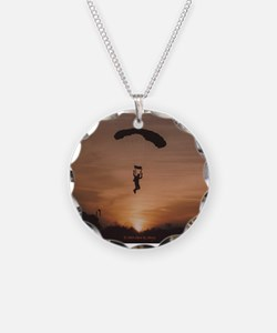 Necklace with Sunset Skydiver