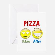 Pizza Humor Greeting Card