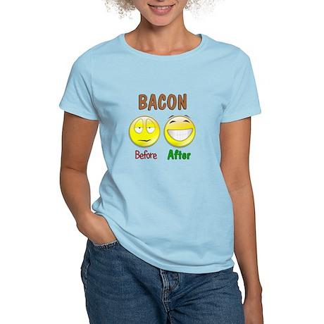 Bacon Humor Women's Light T-Shirt