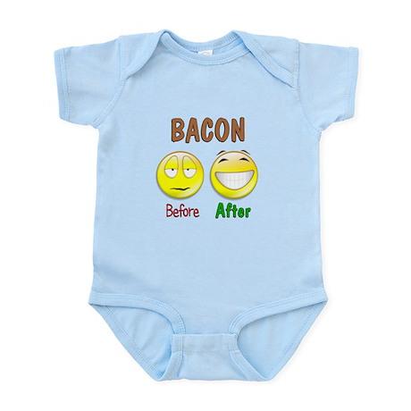 Bacon Humor Infant Bodysuit