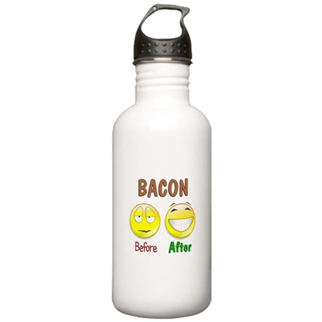 Bacon Humor Stainless Water Bottle 1.0L