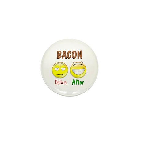 Bacon Humor Mini Button (10 pack)