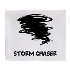 Storm Chaser Throw Blanket