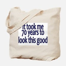 Unique 70 years old Tote Bag