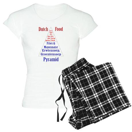 Dutch Food Pyramid Women's Light Pajamas