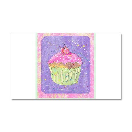 Cuppy Cake! Car Magnet 20 x 12