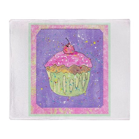 Cuppy Cake! Throw Blanket