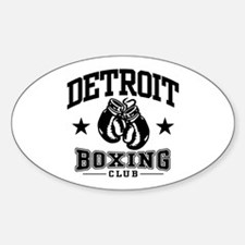 Detroit Boxing Decal