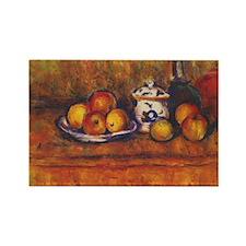 Paul Cezanne Art Rectangle Magnet