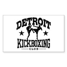 Detroit Kickboxing Decal