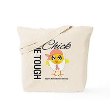 Uterine Cancer OneToughChick Tote Bag