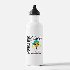 Thyroid Cancer OneToughChick Water Bottle