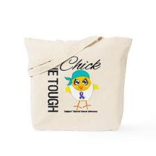 Thyroid Cancer OneToughChick Tote Bag