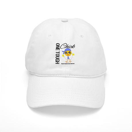 Stomach Cancer OneToughChick Cap