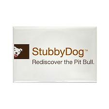 StubbyDog Logo Rectangle Magnet