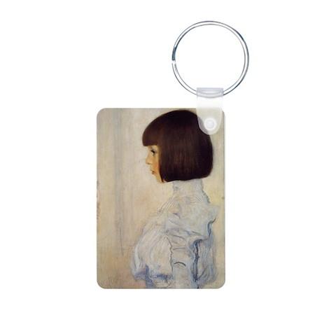 Gustav Klimt Aluminum Photo Keychain