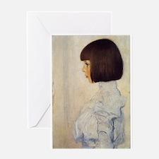 Gustav Klimt Greeting Card