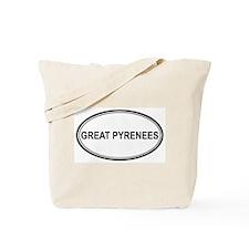 Great Pyrenees Euro Tote Bag
