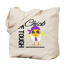 Pancreatic Cancer OneToughChick Tote Bag
