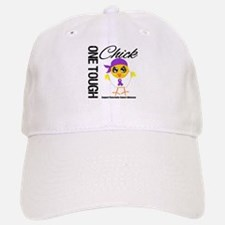 Pancreatic Cancer OneToughChick Baseball Baseball Cap