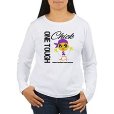 Pancreatic Cancer OneToughChick T-Shirt