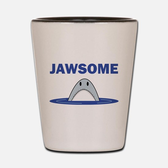 Jawsome Shot Glass