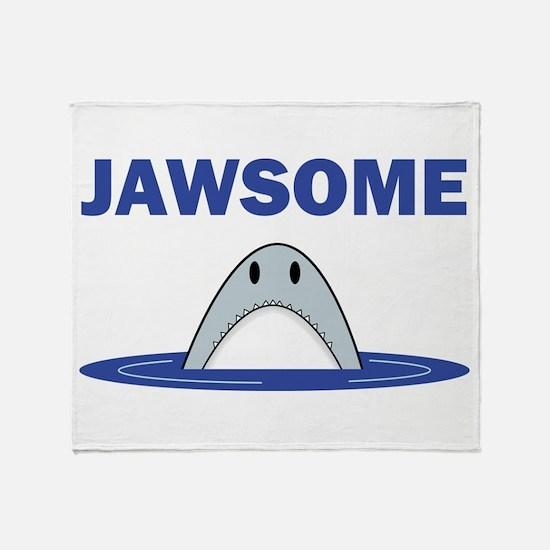 Jawsome Throw Blanket