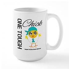 Ovarian Cancer OneToughChick Mug