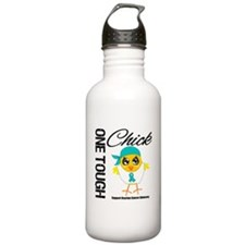 Ovarian Cancer OneToughChick Sports Water Bottle
