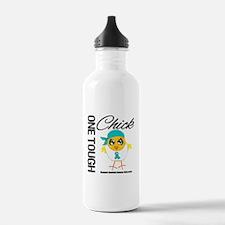 Ovarian Cancer OneToughChick Water Bottle