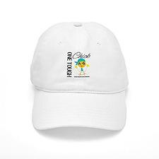 Ovarian Cancer OneToughChick Baseball Cap