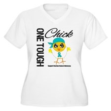 Ovarian Cancer OneToughChick T-Shirt